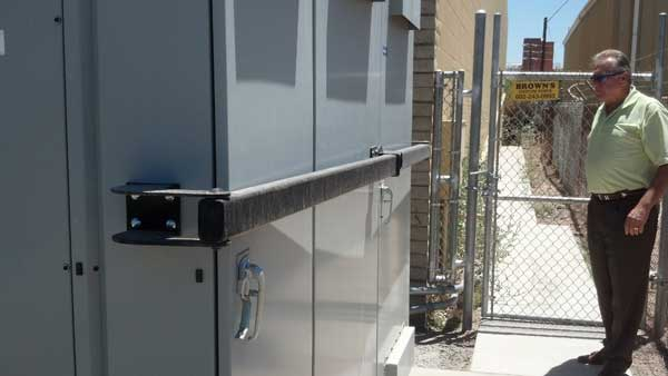 Utility Panel Theft Prevention